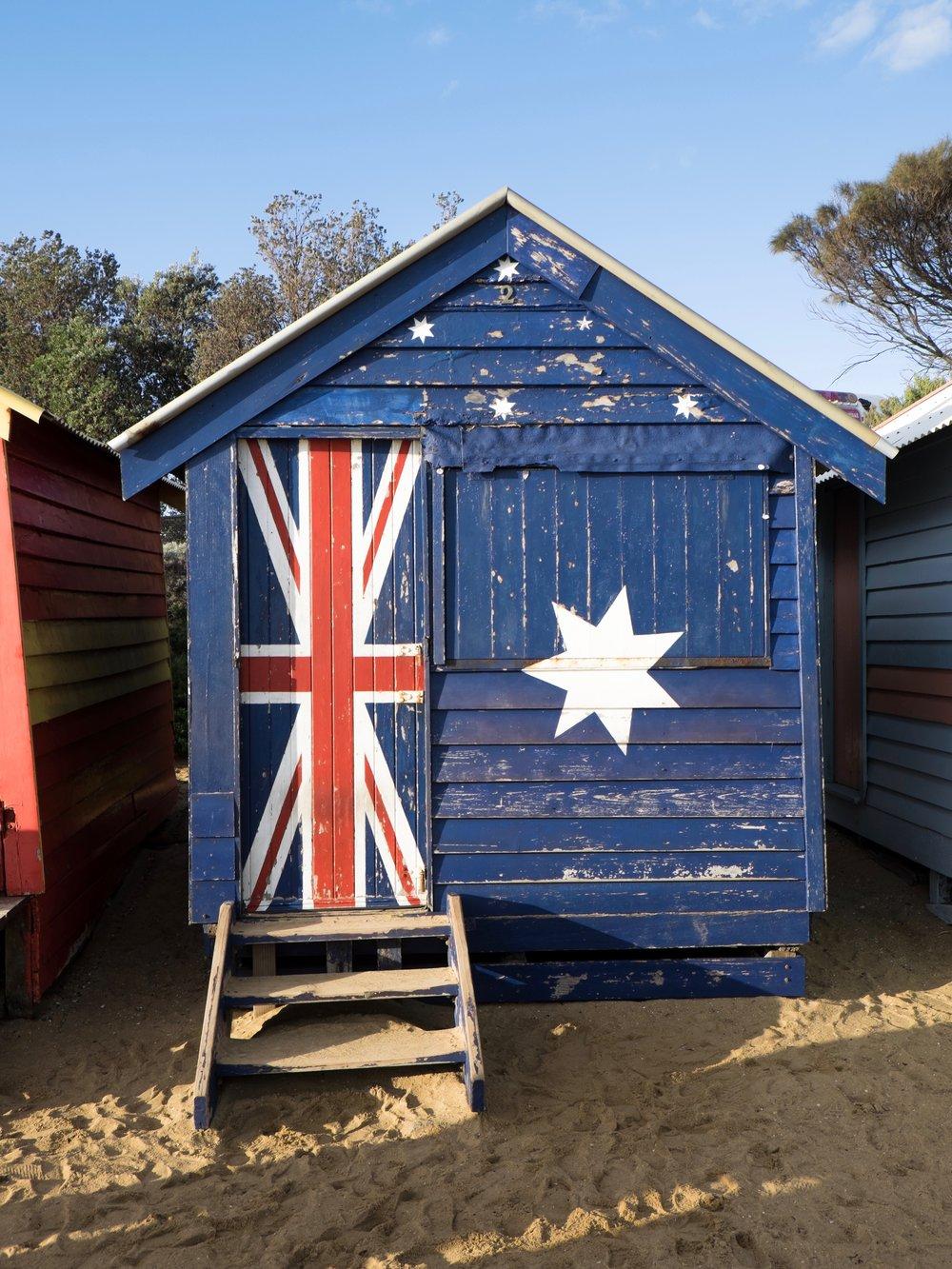 australia brighton bathing box