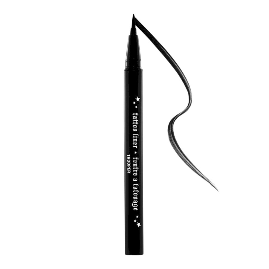 Kat Von D - Tattoo Liner ($20) - If you're an avid liquid liner wearer, be sure to grab one of these! It's always great to have a backup because you never know when one of these are done! Worst part about black packaging, for sure.