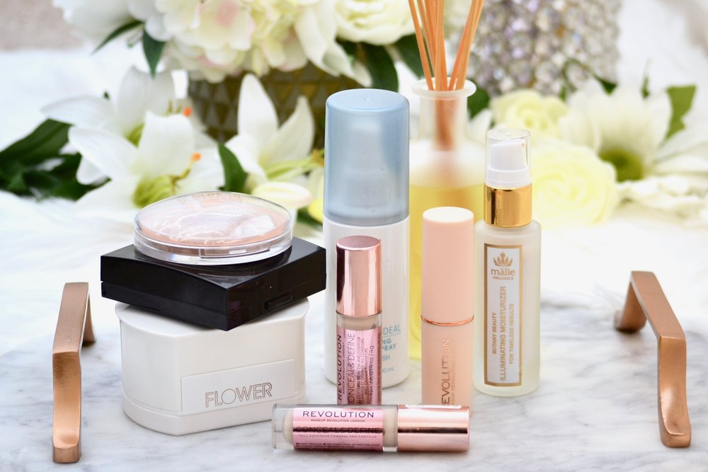 august makeup beauty favorites