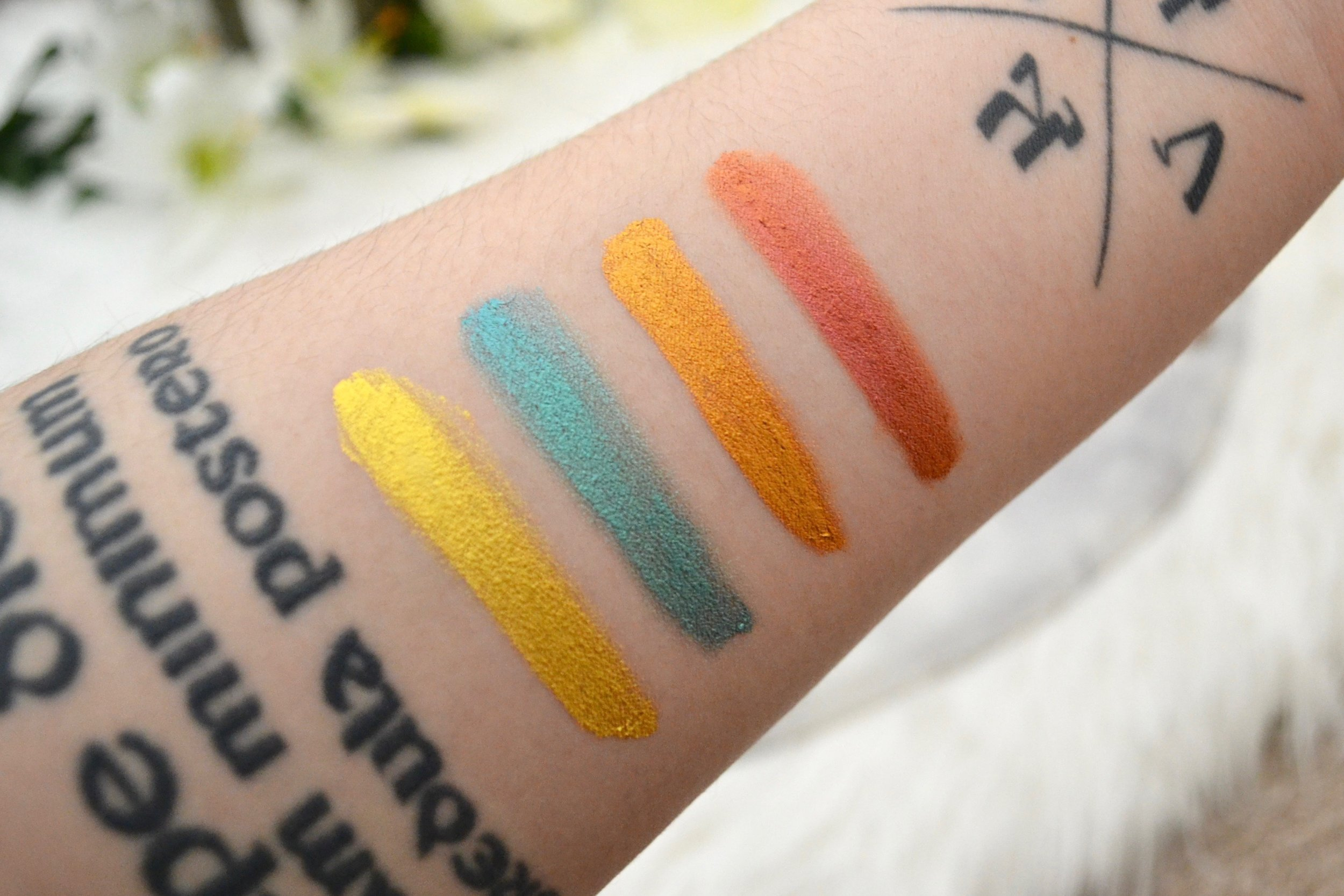 ColourPop Cosmetics Jelly Much Shadows - Review and Swatches