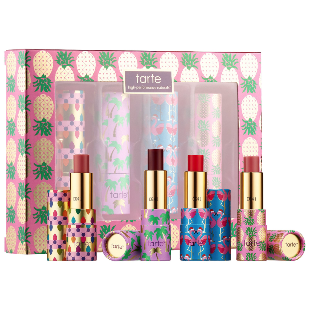 Sephora under $20 Tarte – Quench Squad Hydrating Mini Lip Set – Rainforest of the Sea Collection