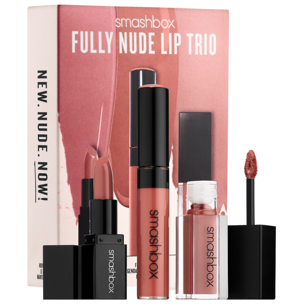 Sephora Gift Guide Makeup Under 40 Liana Desu Smashbox Photo Bombshell 5 Piece Color Collection Fully Nude Lip Set