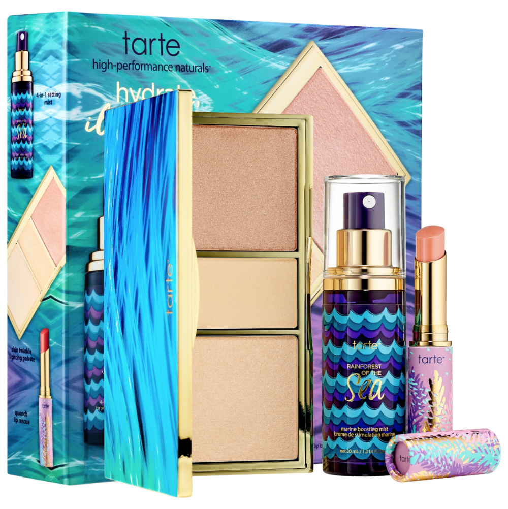 TARTE Hydrate, Illuminate, Glow Beauty Essentials Set - Rainforest of the Sea™ Collection.png
