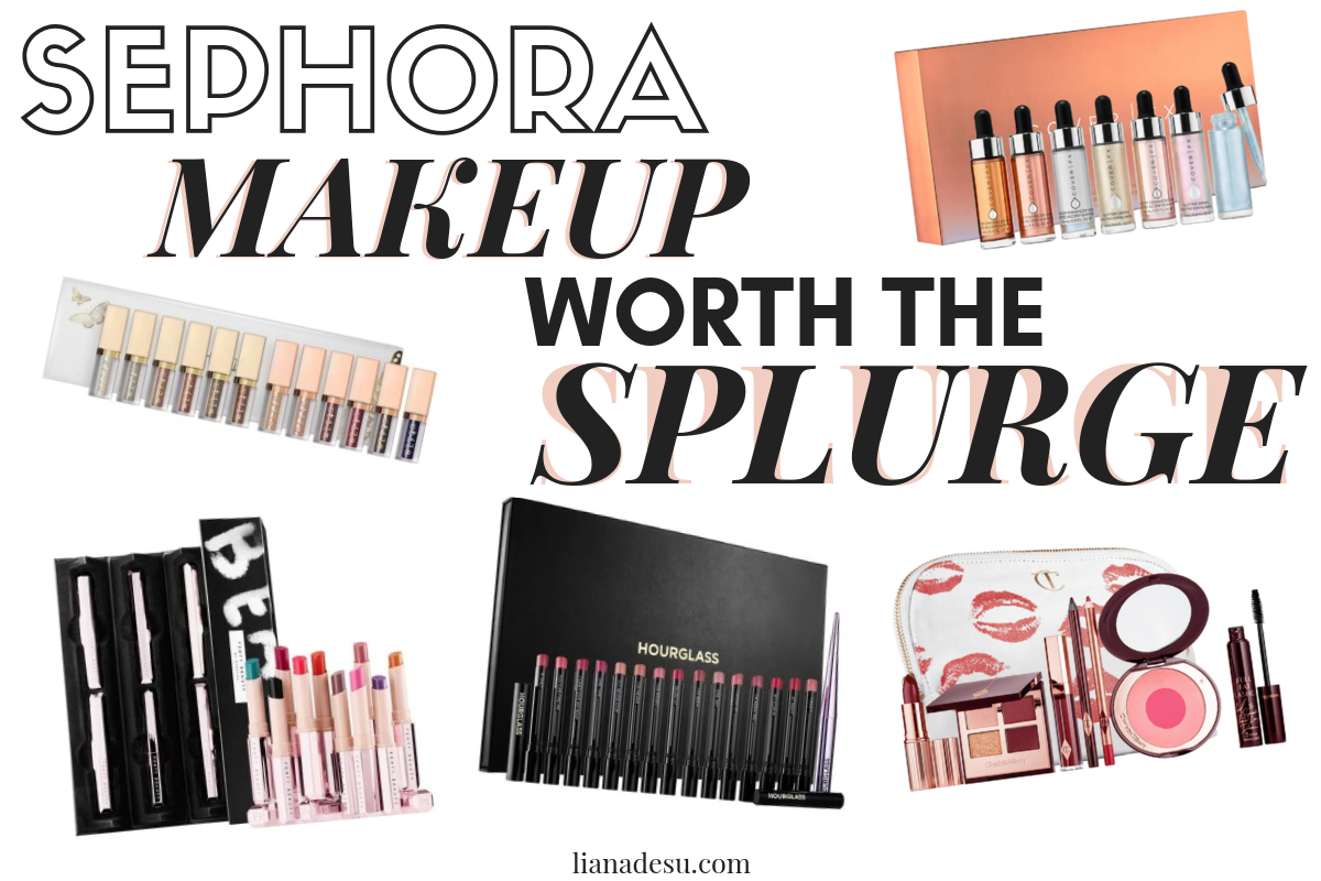 Sometimes makeup can be crazy expensive right? Well, these makeup sets from Sephora are totally worth the splurge! Check out the top makeup sets you can get at Sephora! #makeup #luxurymakeup #sephora