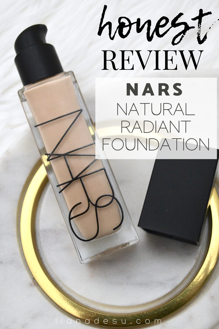 Nars Natural Radiant Longwear Foundation - Full In-depth Review