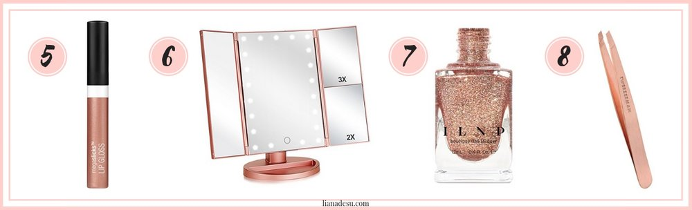 Still looking for Christmas gift ideas? Check out these great rose gold products on Amazon that are all under $20! These will make the perfect gifts or stocking stuffers for the lady in your life! #christmas #giftguide #amazon #rosegold