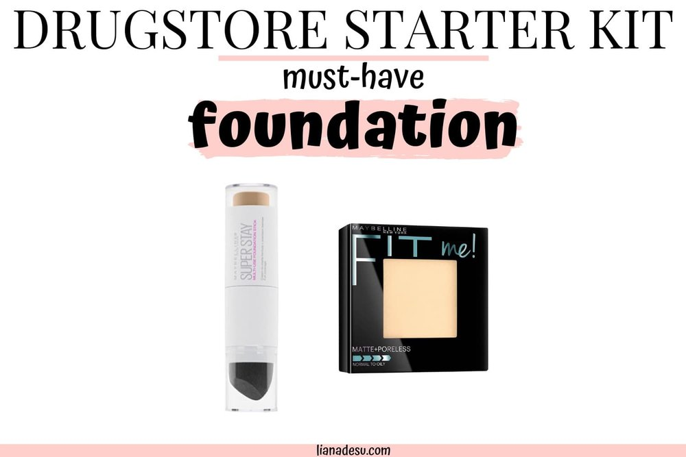 Not sure where to start with makeup? Overwhelmed with all the options? Check out this Drugstore Makeup Starter Kit For Beginners! Free Printable List shopping list inside! #drugstore #makeup #beginner