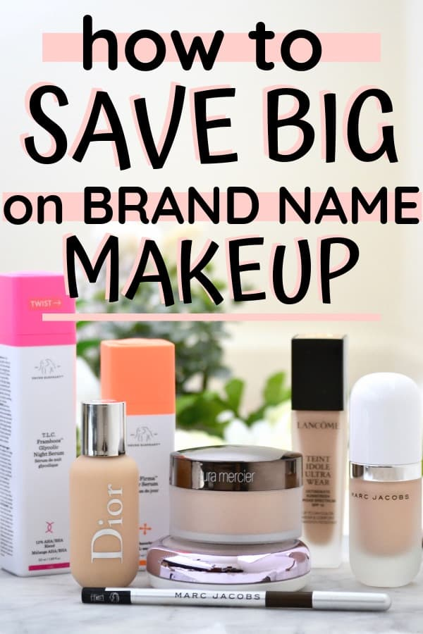 These really are the secrets on how to save big on makeup that you must know! Why wouldn't you want to save on expensive makeup, right?! I love using all of these tricks when I want to save money on brand name makeup. Just follow these tips on how to save tons of money on makeup and you'll never pay full price again!