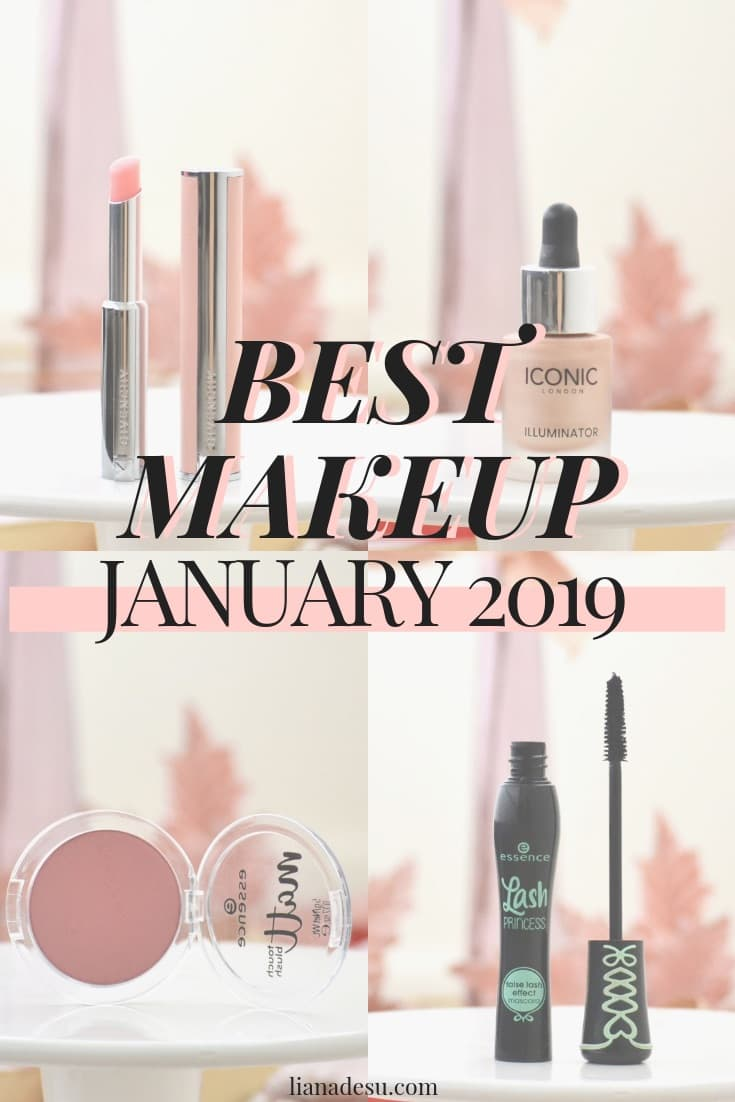 Makeup Favorites - January 2019. It's that time of the month again! Here are my picks for the best makeup of January! Get all of the details on the best beauty of January 2019. #makeup #beauty