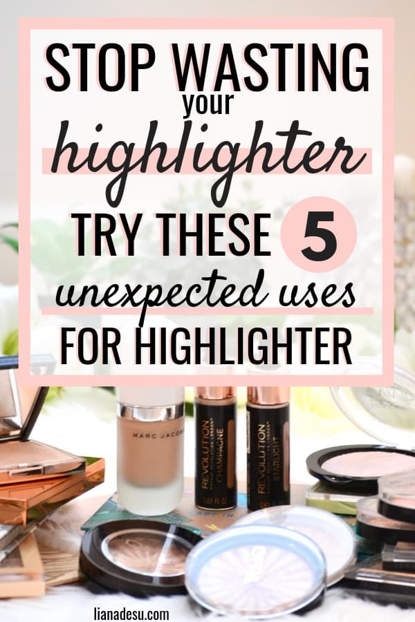 Stop wasting your highlighter! Discover these 5 must-know hidden uses for highlighter that's just sitting around in your collection. Do you have old highlighter that isn't being used? You'll be shocked at these unexpected hacks to repurpose highlighter. Check out the post for 5 new ways to use highlighter!