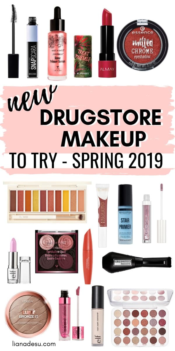 There are a ton of new drugstore makeup products newly released! Find out what new products you should try! Spring 2019 #drugstore #makeup #new
