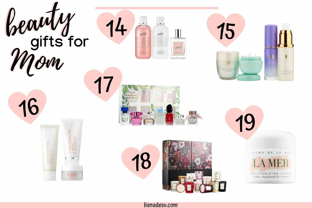 Don't know what to buy Mom for Mother's Day? Check out these beauty gift ideas that Mom will definitely Love! Mother's Day Beauty gift ideas for every budget. #mothersday #beauty #makeup #skincare #giftguide #lianadesu