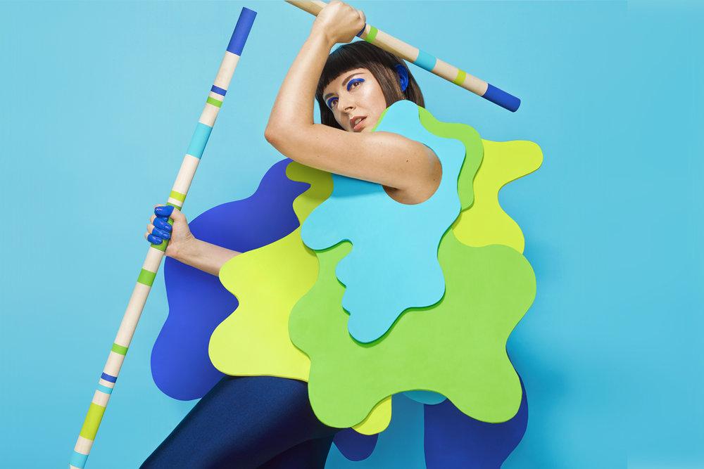 Photo: Album artwork of Meg's album, Imperfezione.  Photo Courtesy: (Leta Sobierajski)