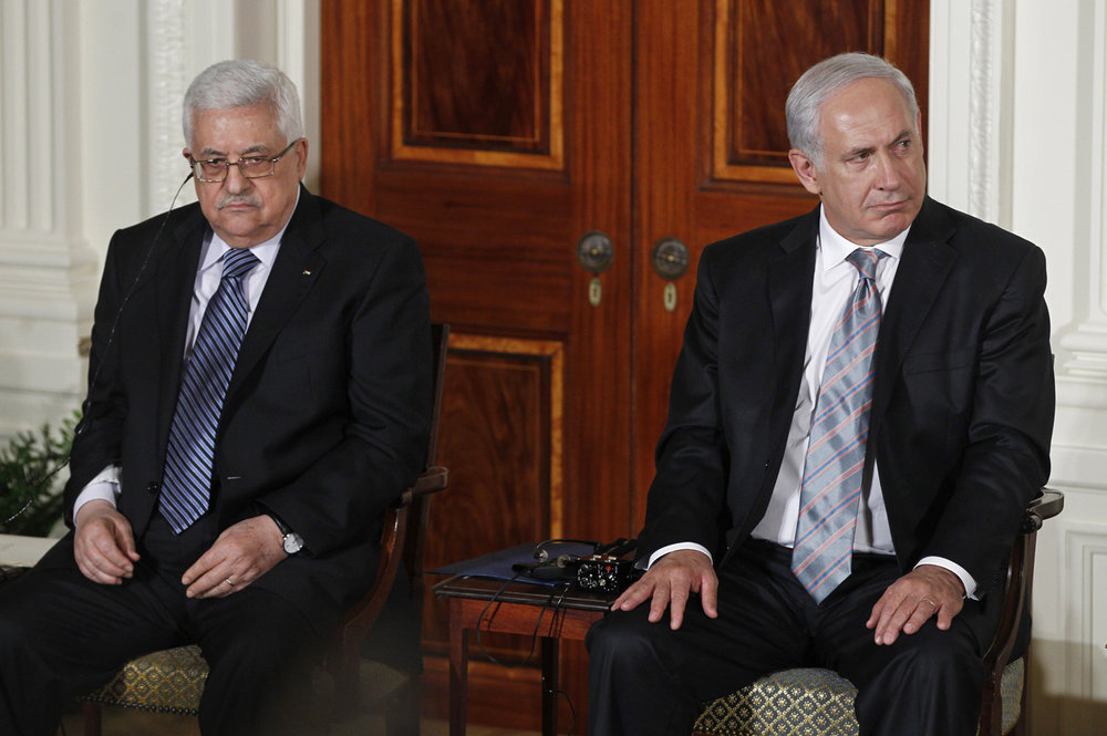 Photo: Abbas and Netanyahu in 2010  Photo Courtesy: Associated Press