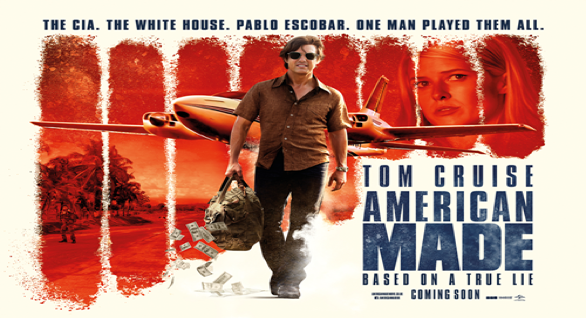 Poster of  American Made  (Photo: Universal Pictures)