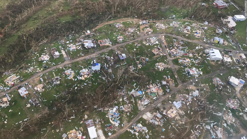 Photo: A shot of Corozal, a mountainous community in the interior of Puerto Rico.  Photo Courtesy: CNN