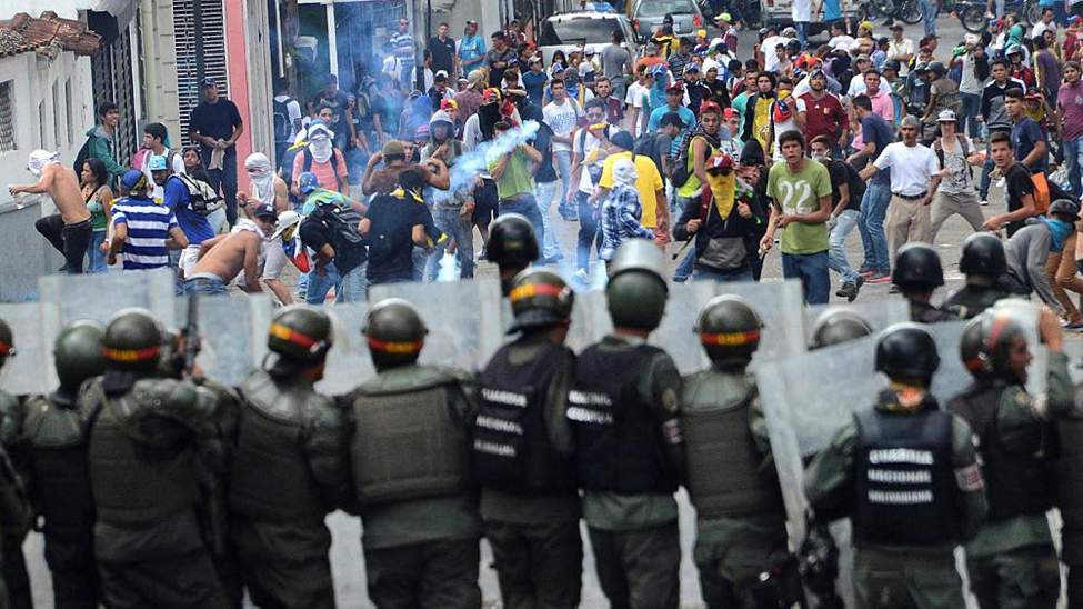 Photo: Venezuelan citizens are injured and detained during anti-Maduro protests  Photo Courtesy: Euronews