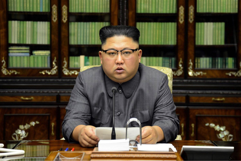 North Korea's leader Kim Jong Un (KCNA / Reuters file)