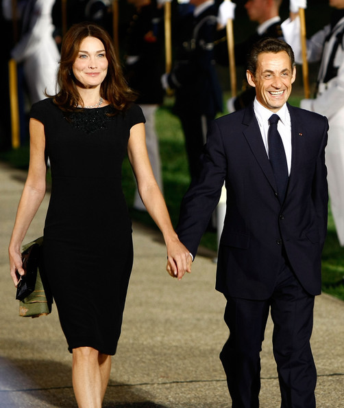 Nicholas Sarkozy and Carla Bruni attend the 2009 G-20 summit in Pittsburgh. Credit :  Win McNamee/Getty Images North America