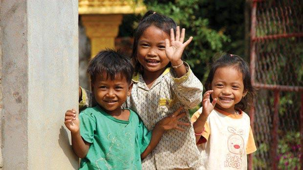 Picture of Children in an orphanage in Cambodia. (Photo: DO Cambodia Facebook page)