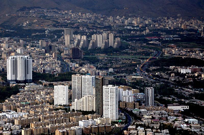 Tehran  Credit: Simisa/WikiCommons