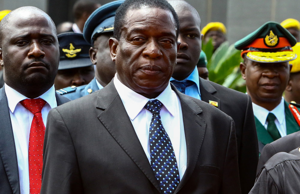 Emmerson Mnangagwa/Credit:APF