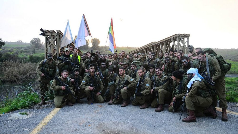 Gdud Herev, a IDF famous homogenous Druze unit, was disbanded in 2015 at its soldiers' request (IDF/Flickr 2012)
