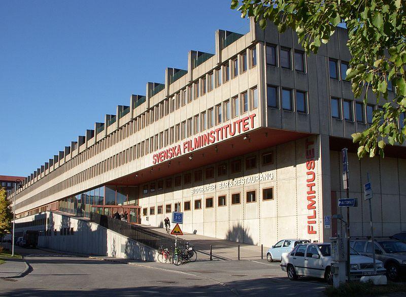 Swedish Film Institute building, Stockholm. Source:  Holger.Ellgaard/WikiMedia