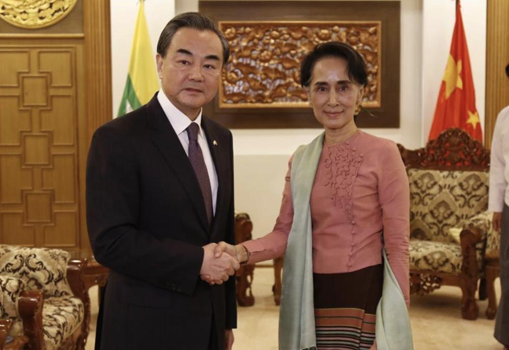 Credit: Xinhua/U Aung