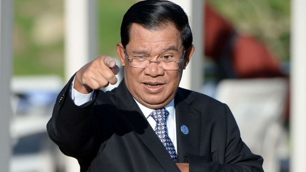 Cambodian Prime Minister Hun Sen/ Credit: AFP  http://www.scmp.com/news/asia/southeast-asia/article/1992355/cambodian-military-investigates-after-coup-plans-agains