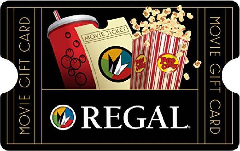 Regal Cinemas Gift Card (Source: amazon.com)