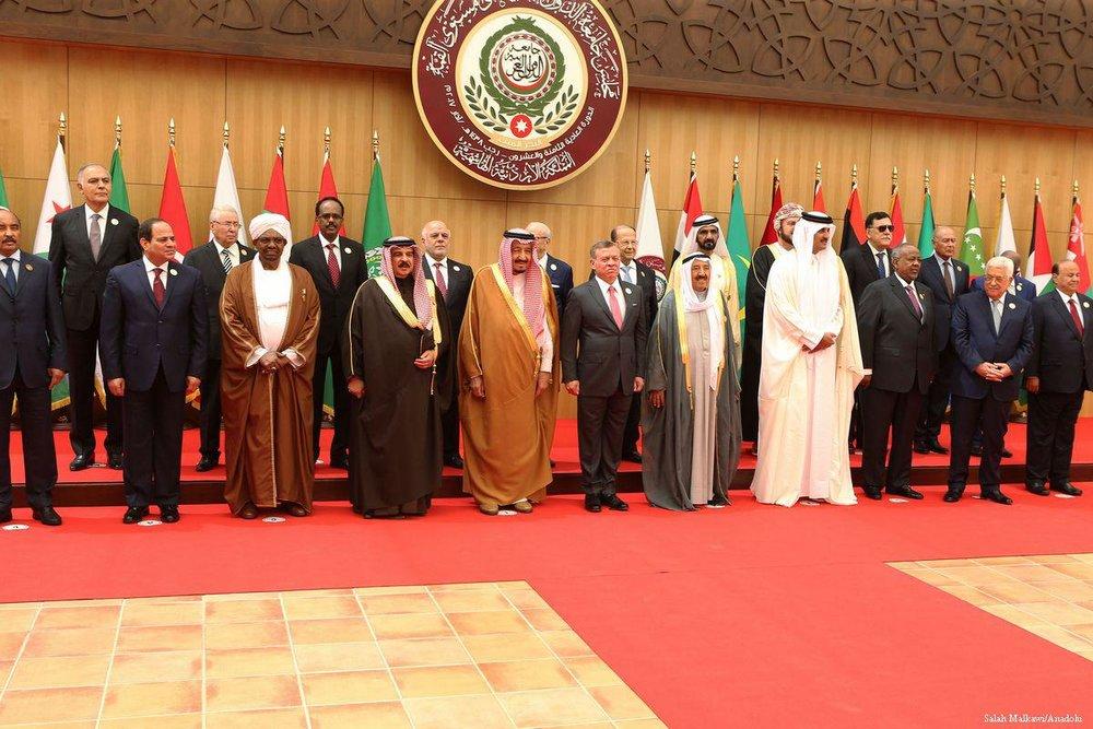 The 20th Arab League Summit in Amman, Jordan on March 29 [Salah Malkawi/Anadolu Agency]