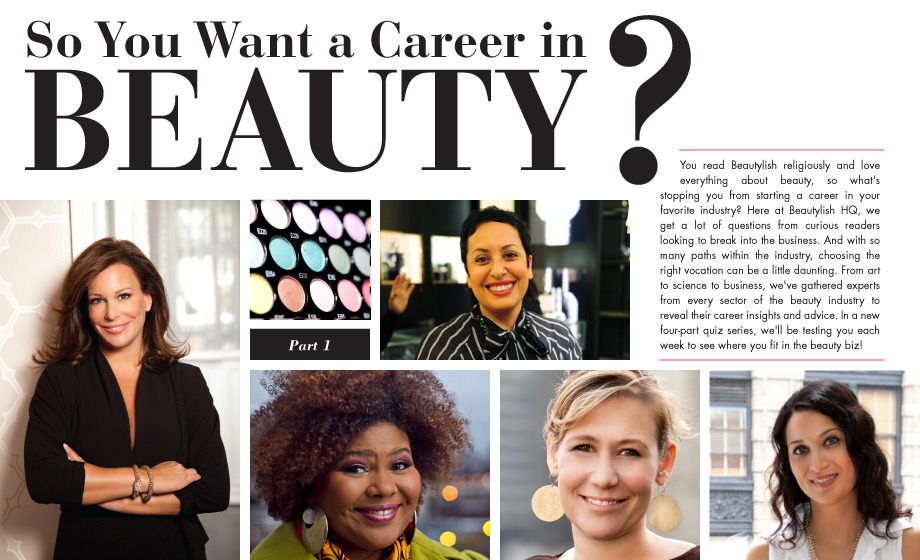 A beauty industry campaign published on online beauty boutique Beautylish.com