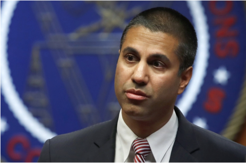 FCC Chairman Ajit Pait (Credit: AP Photo)