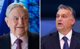 George Soros and Viktor Orbán (Source: Getty Images)