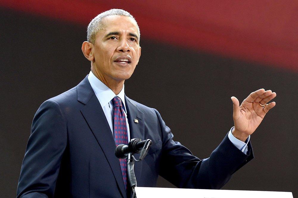 Then U.S. President Barak Obama