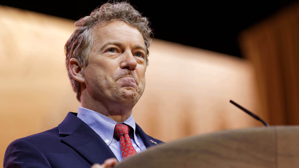 (Senator Rand Paul, the man spearheading the bill to end aid to Pakistan in the US Senate. Credit; Conservative Review. January 4th, 2018. )