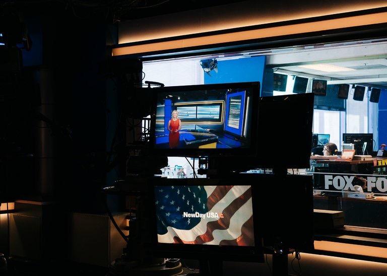 The Washington bureau of Fox News. (Source: Justin T. Gellerson/The New York Times)
