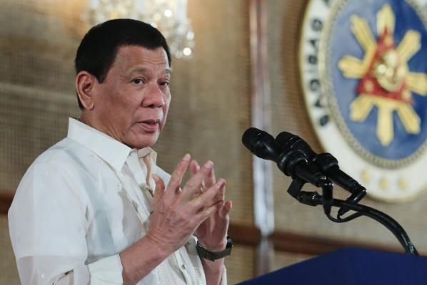 Photograph  of President Duterte