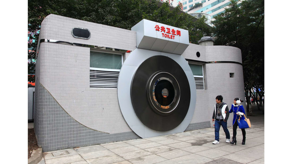 A public toilet in China (CNN)