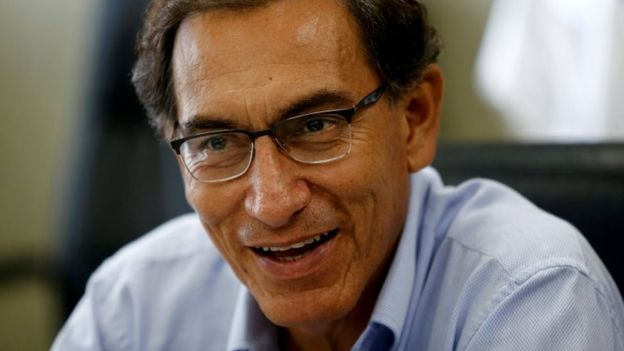 Vice-President Martín Vizcarra is expected to be sworn in as President (BBC News)