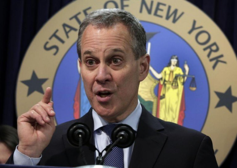 New York Attorney General Eric Schneiderman, the Leader of the Lawsuit. (Credit: Politico)