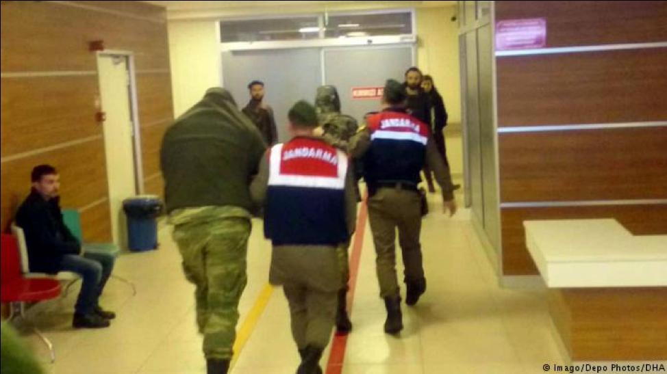 Turkey refuses the release of 2 Greek soldiers    Source: Deutsche Welle