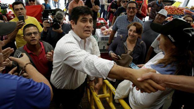 Carlos Alvarado Quesada, Source:  Reuters/ BBC