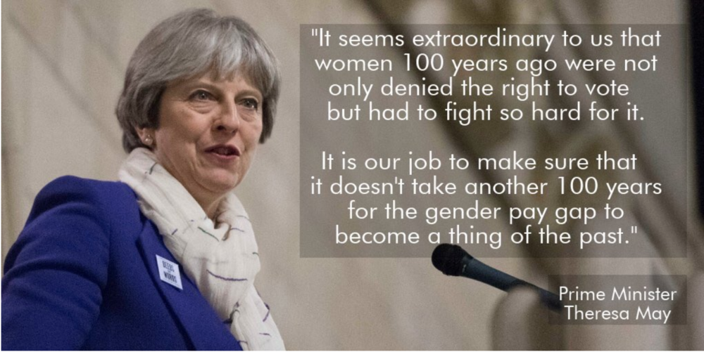 Photo: from Theresa May, www.twitter.com