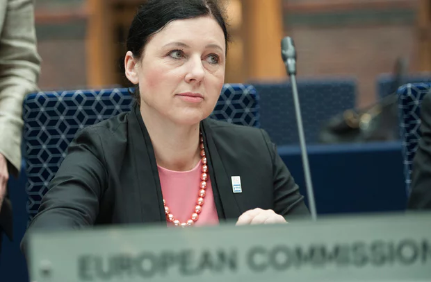 Vera Jourova; senior justice at the European Commission (S ource : the guardian)