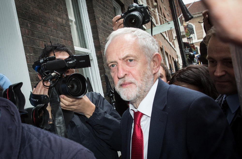 """Jeremy Corbyn has called the strike """"legally questionable."""" Source:  Chatham House/Flickr"""