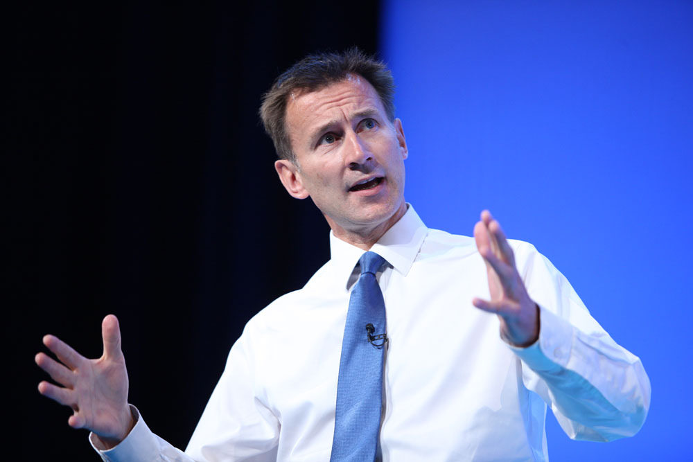 Jeremy Hunt. Source:  NHS Confederation/Flickr