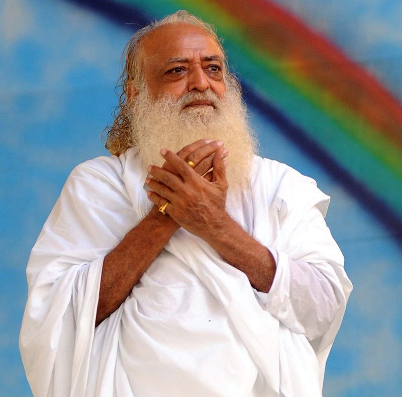 Asaram Bapu. (Source:  Wikipedia )