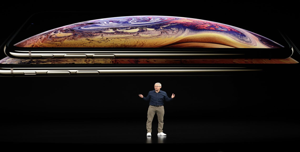 Apple CEO Tim Cook at the company's most recent launch event. (Photo: Marcio Jose Sanchez - Associated Press).